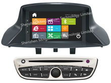 Car DVD player with GPS for Renault Megane3 fluence 2009-2011 with design similar to Windows8