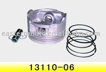 good quality motocycle piston/piston ring/China motorcycle spare parts/hot sale motorcycle parts