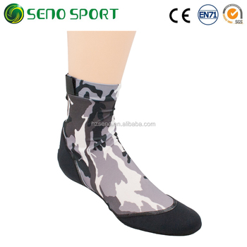 Bulk Wholesale Men Camo Beach Socks For Beach Volleyball