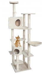 "New Cat Tree 80"" Condo Furniture Scratching Post &Pet Cat Kitten House"