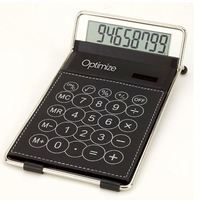 mini fancy touch screen transparent solar Classic Desk Calculator