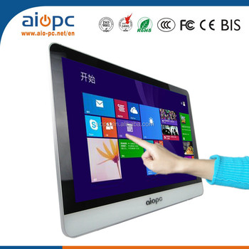 Latest factory directly sale high quality cheap touch screen all in one pc