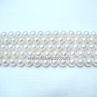 Loose pearl beads AAA+ Grade white pearls LPS0096