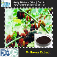 25% Anthocyanidins Top Quality Mulberry Fruit Extract