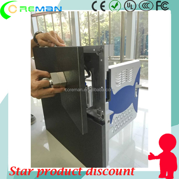 NEW DESIGN CABINET Front service rental led display p2.5 p3 p4 p5 p6 p8 p10/ front maintenance led screen p4.8 module