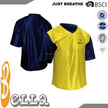 Oem Design Short Sleeve Reversible Basketball Jersey