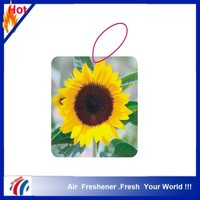 decoration flower pisang scents paper air freshener