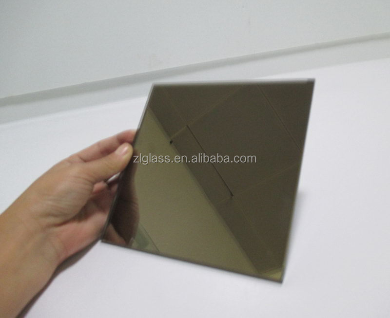 Alibaba china hot selling half silvered mirror glass