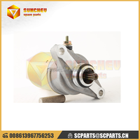 high performance motorcycle starting parts 12V starter motor