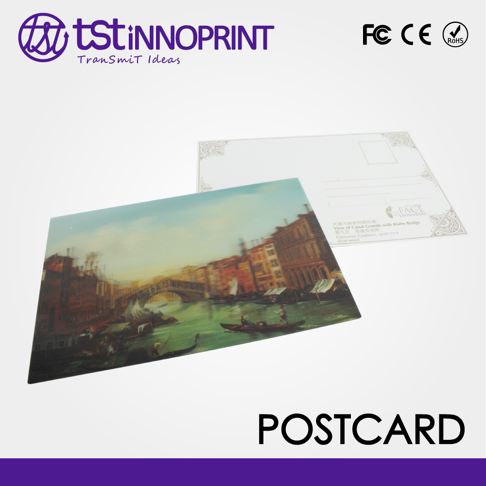 Taiwan Customized Printing Quality Gift Postcard