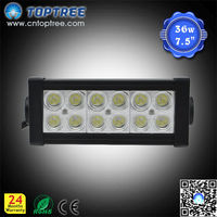 36W Led Light Bar, Cree Dual Row Led Light, 36W Led Front Light for Dirt Bike