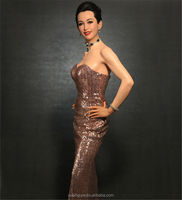 sex action figure of china movie actress wax figure