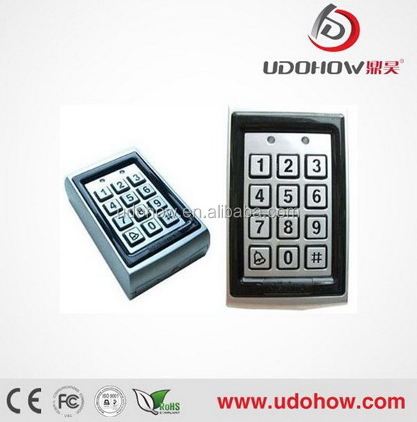 Electronic rfid smart card reader metal case access control DH-7612