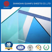 8mm solid polycarbonate sheet price thermoplastic materials polycarbonate excellent load capacity 24mm