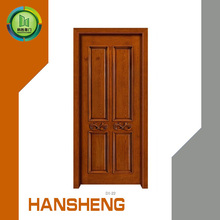 high quality white oak veneer simple design wpc doors