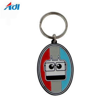 Custom Cut Out 3d Metal  Keychain For Sale