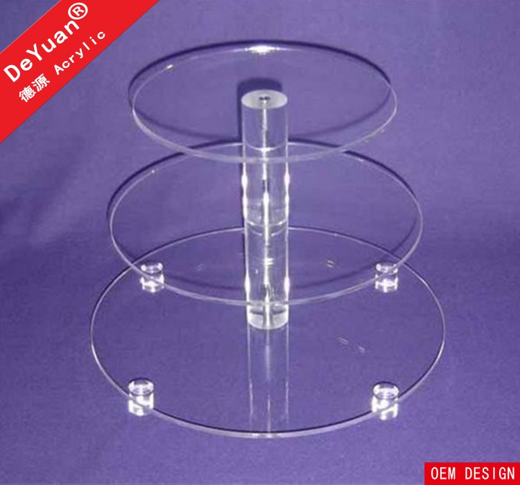 4 Tier Cake Stand With Rod / Cupcake Stands For Sale