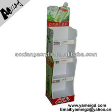 Supermarket Mdf Display Rack