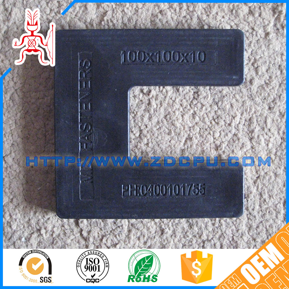 High precision small heat resistant pvc plastic gasket seal