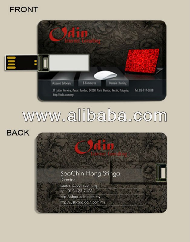 Slim Credit Card Pendrive 8GB Year End Promo 8GB Flash Drive