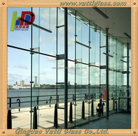 6.76mm Translucent Laminated Glass For Windows, Door, Curtain Walls, Skylight, Sunroom, Awning, Roofing, Glass Railing