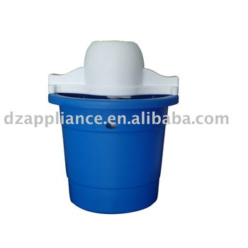 4QT Plastic Ice Cream Maker(Round shape)