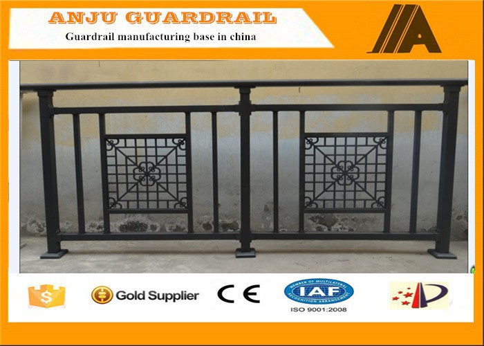 High quality galvanized Wrought iron balcony railing with lower price YT003