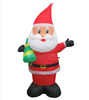 Cheap large christmas inflatables Santa Claus christmas decorating