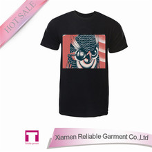 Wholesale fashion blank sound activated led tshirt