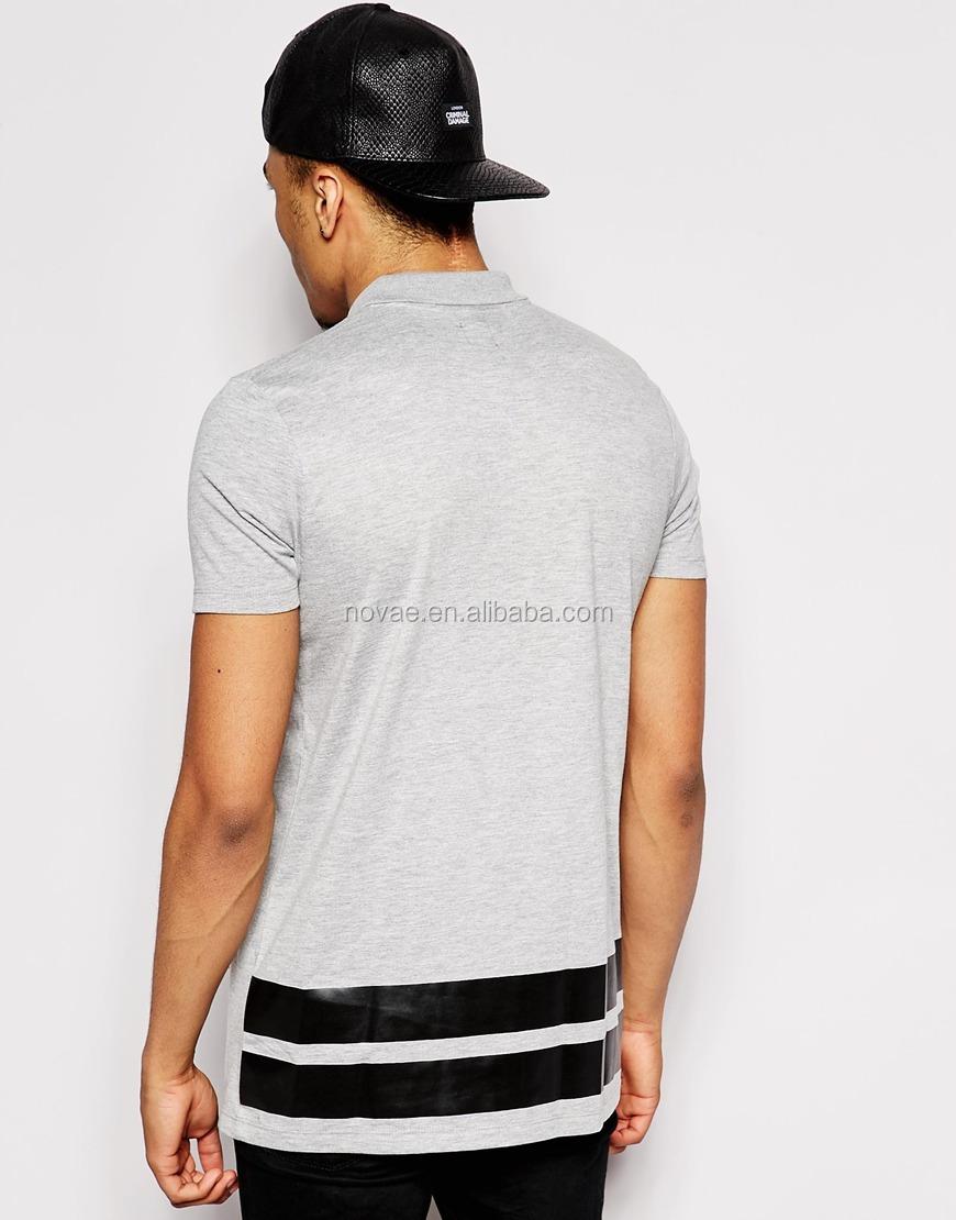 100 cotton short sleeve custom printing pocket polo shirt for Get shirts printed cheap