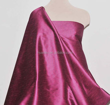 Wholesale 100 Polyester Slub Satin Which Is Like Dupioni Silk Fabric