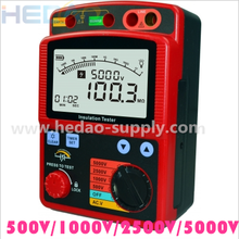 Digital Insulation Resistance Earth Multifunction Tester Meter