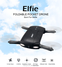 2017 New Mini Foldable RC Wifi FPV drone quadcopter JJRC H37 pocket drone quadcopter
