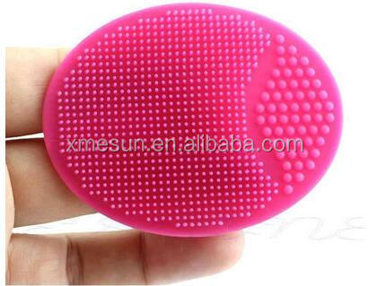 BPA Free Silicone Round Facial Cleaning Brush