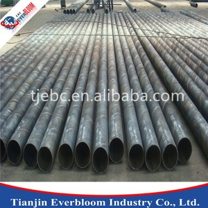 API Pipe GB T 9711 SAW Spiral Steel Pipe , large diameter spiral steel pipe on sale
