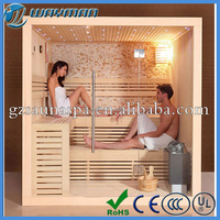 Multifunctional nearly infrared sauna room with sauna heater for dry home sauna