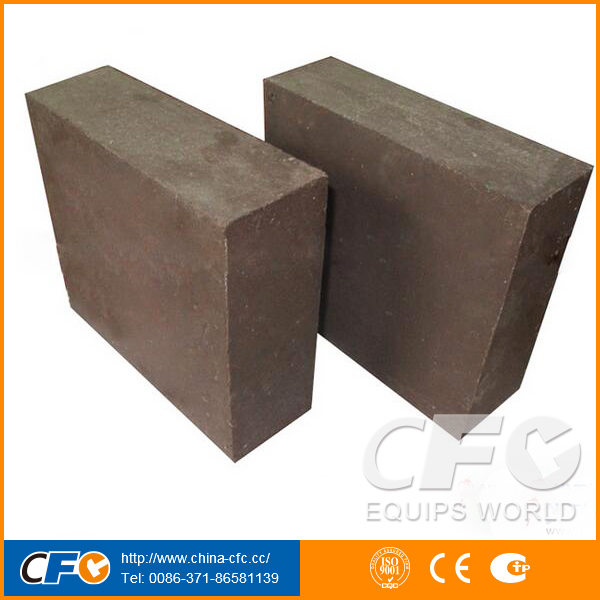 High Temperature Resistance Magnesia Chrome Refractory Bricks Price for Ladle Arc Refining Furnace