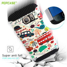latest 2016 slim shockproof PC+TPU mobile phone case for SAMSUNG GALAXY S7
