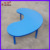 Guangzhou kindergarten furniture crescent plywood activity table