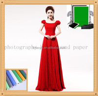 red color foto seamless background paper size 2.72m*11m
