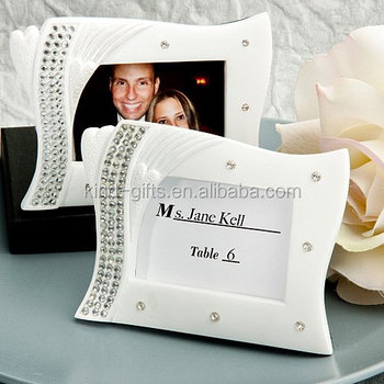 Fancyin Bling Bling Silver Pearl Around Luxury Metal Picture Photo Frame