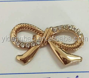 2017 shining ally pin buckle crystal shoe buckle