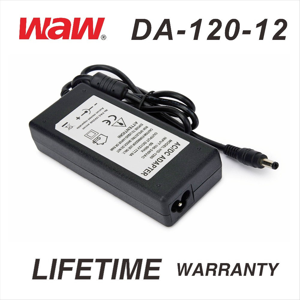 12V 10A ac to dc power adapter wiht plug for cctv camera and LED strip