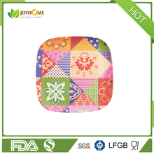 Disposable Bamboo Fiber square plate
