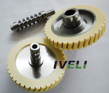 Nylon worm wheel and gear for manufacturers of steering locks
