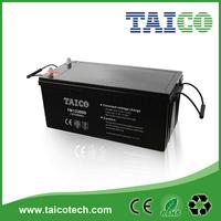 12v deep cycle solar battery 12v 200ah for solar farm