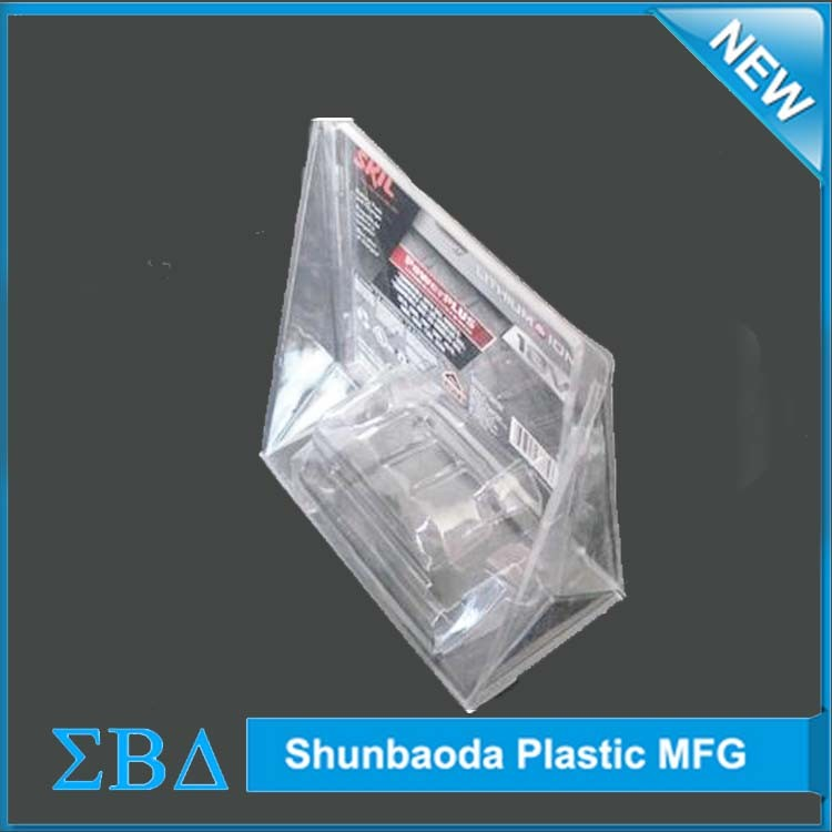 High Quality Tri-fold Clamshell Packaging, trifold clam shell wholesale