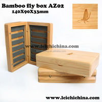 well smelled customized wooden fly fishing box