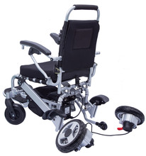 Aluminum brushless motor Portable folding electric power wheel chair prices with lithium battery for diabled people