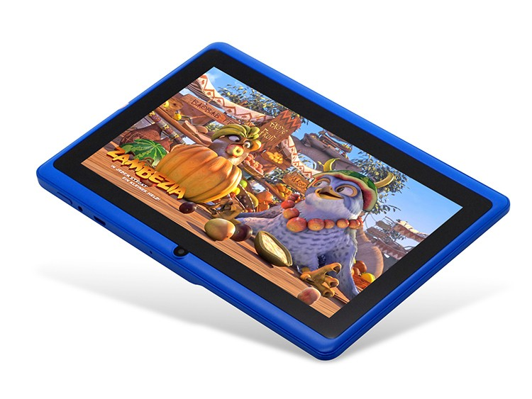 Fashionable and Cute and colorful 7 inch q88 android 4 0 tablet LED backlight, 1024*600 pixels